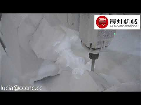 SFD2030QG 4S foam statue making cnc router machine, 4 axis with rotary