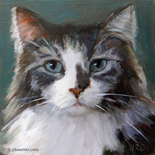"Daily Paintworks - ""Mister Lumpy"" - Original Fine Art for Sale - © J. Dunster"