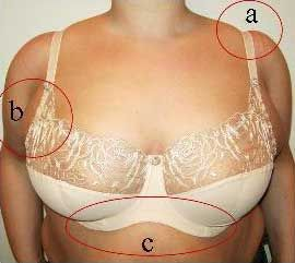 Wonderful resource for bra fitting. Shows common bra fitting mistakes, and how to fix them.