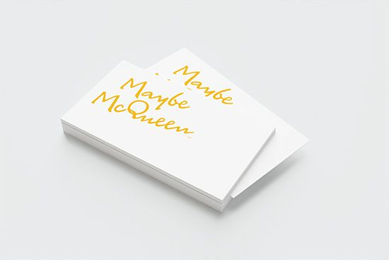 Maybe McQueen Business Cards www.maybemcqueen.com