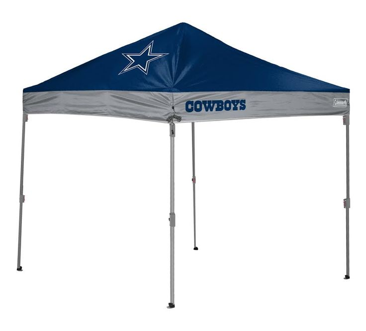 Dallas Cowboys X Straight Leg Tailgate Canopy Tent