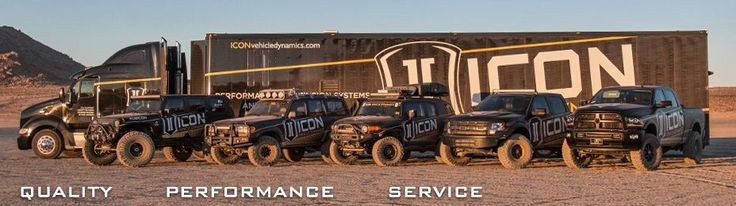 Icon Vehicle Dynamics–Performance Suspension Systems, Coil-Over Shocks, Uniball Upper Control Arms, and Lift Kits for Trucks and Suv's