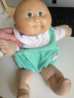 Do-It-Yourself Danielle: Washing a Cabbage Patch Doll