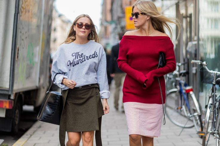 Rain Can't Hold Back the Best of Stockholm Street Style Photos   W Magazine