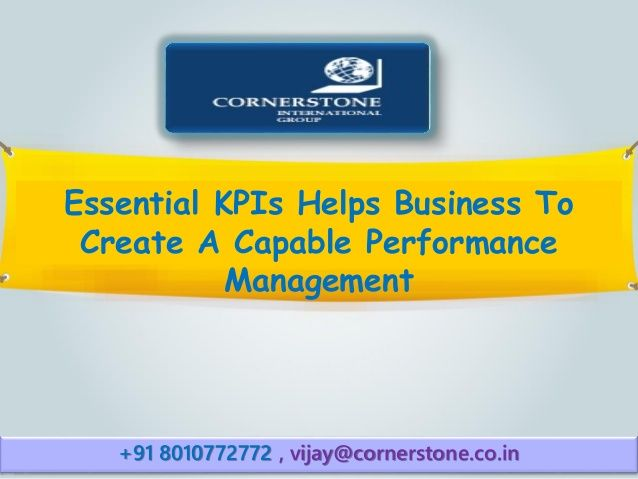 importance of kpi in performance management