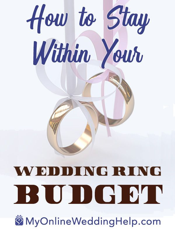 how stay within your wedding ring budget metal and style how to