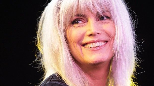 Long hair on older women...as seen on the gorgeous Emmylou Harris, 65