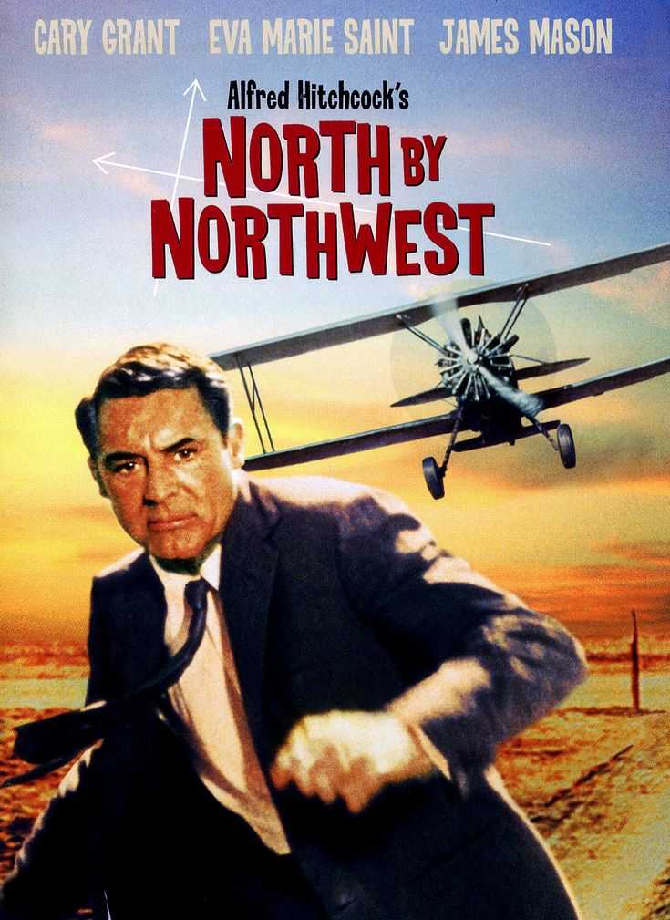North by Northwest: Film, Eva Mary Saint, North By Northwest, Northwest 1959, Favorite Movies, Cary Grant, Movies Poster, Alfred Hitchcock, Classic Movies