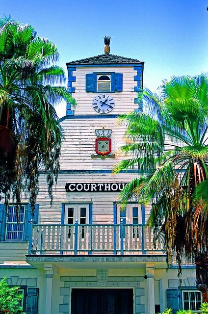 HDR Old Court House in Phillipsburg.  St Maarten. Photo by CristalArt, via Flickr.
