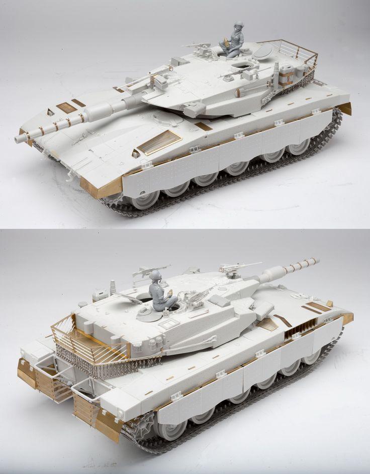 1/16 resincast model Merkava MkIII MBT