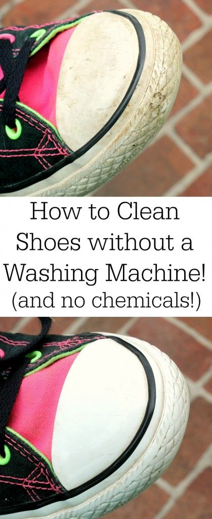How to Clean Shoes really easily! So simple the kids can do it themselves!