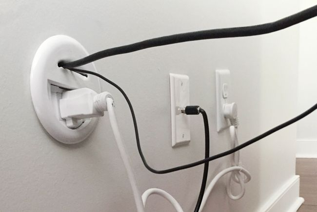 How To Hide Tv Wires For A Cord Free Wall Cable Tvs And