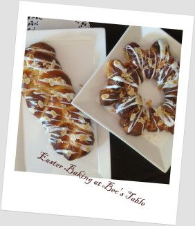 Easter Plaited Bread. Conventional and Thermomix methods