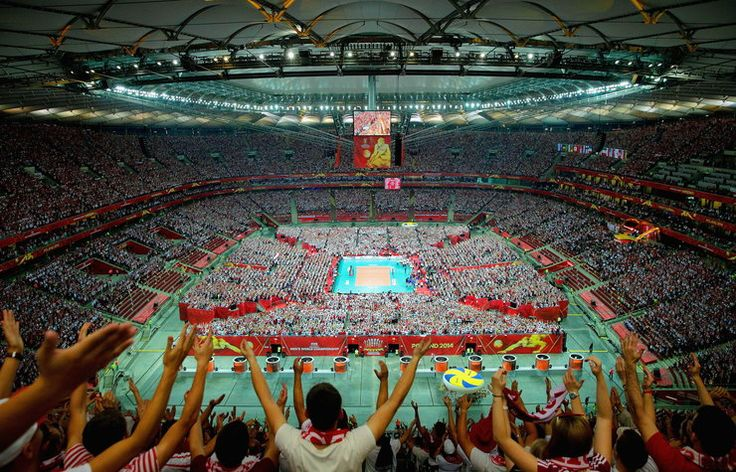 Historyczny pojedynek na Stadionie Narodowym, rok temu polscy siatkarze ruszyli po mistrzostwo świata - MŚ siatkarzy 2014