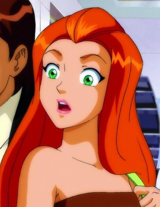 Sam from totally spies<3!!!