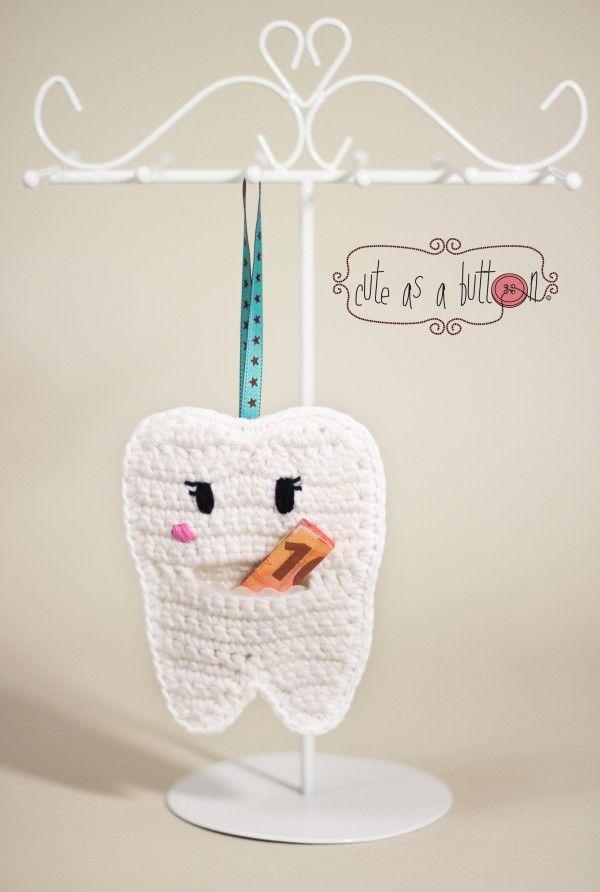 Die Zahnfee ist bei Kindern sehr beliebt, häkle daher jetzt für Deine Kinder die kleine Zahnfee-Tasche. Das ist gar nicht so schwer < probiers gleich aus.