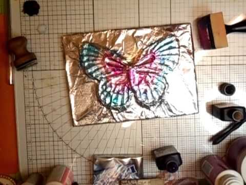 Foiled Butterfly Tutorial