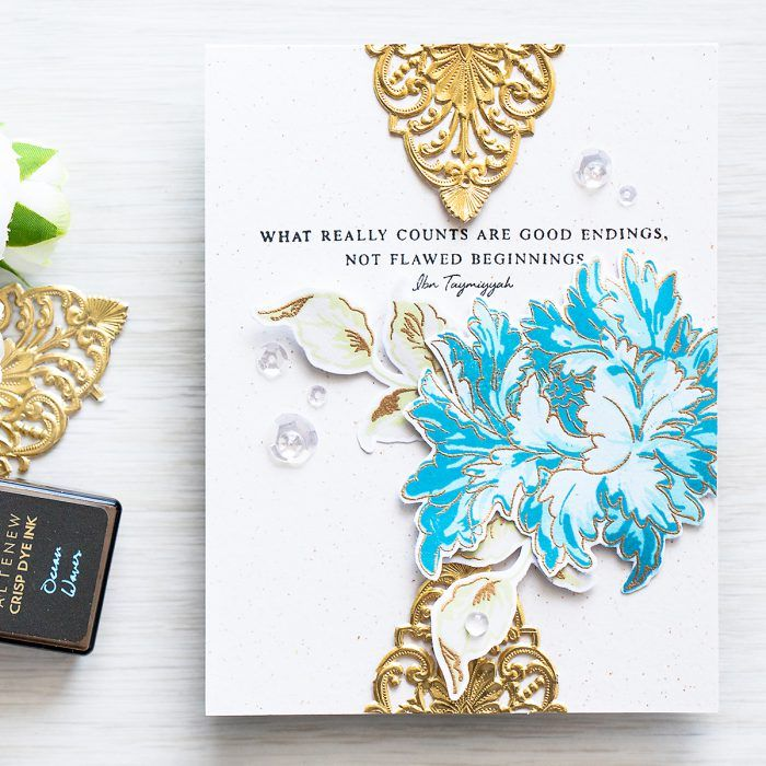 25 best cards with altenew majestic bouquet images on pinterest altenew majestic bloom beautiful quotes card good endings card by yana smakula m4hsunfo