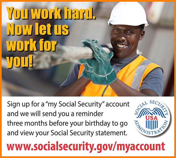Sign In or Create an Account, Social Security - secure.ssa.gov