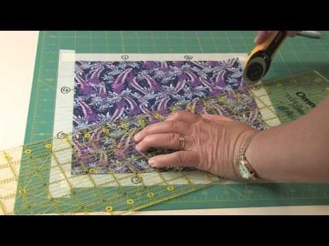 ▶ Template-Free Kaleidoscope Puzzle Quilts Part 1 - YouTube