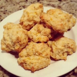 Biscuit Topped Chicken Pot Pie | Cheddar Biscuits, Biscuits and Red ...