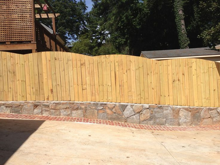 Shadow box fences, or good neighbor fences, feature pickets on both sides of the fence rails so that the fence looks identical on both sides. Request a quote today.
