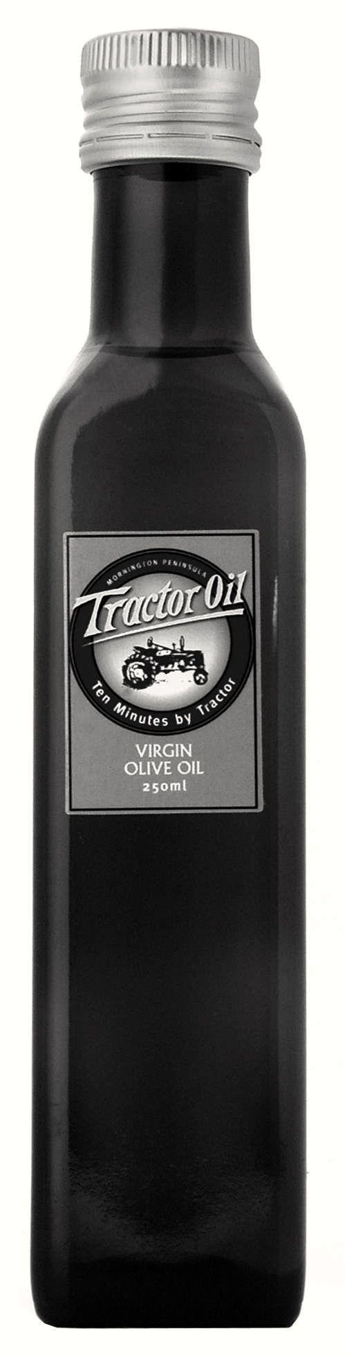"""Tractor Oil"":  Olive Oil -Ten Minutes by Tractor Vineyards, Mornington Peninsula- Australia"