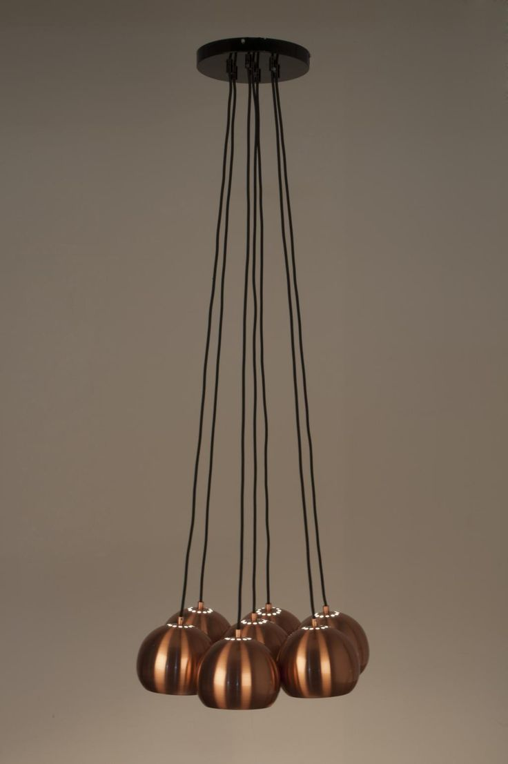 Hanglamp Multishine - Koper - Zuiver