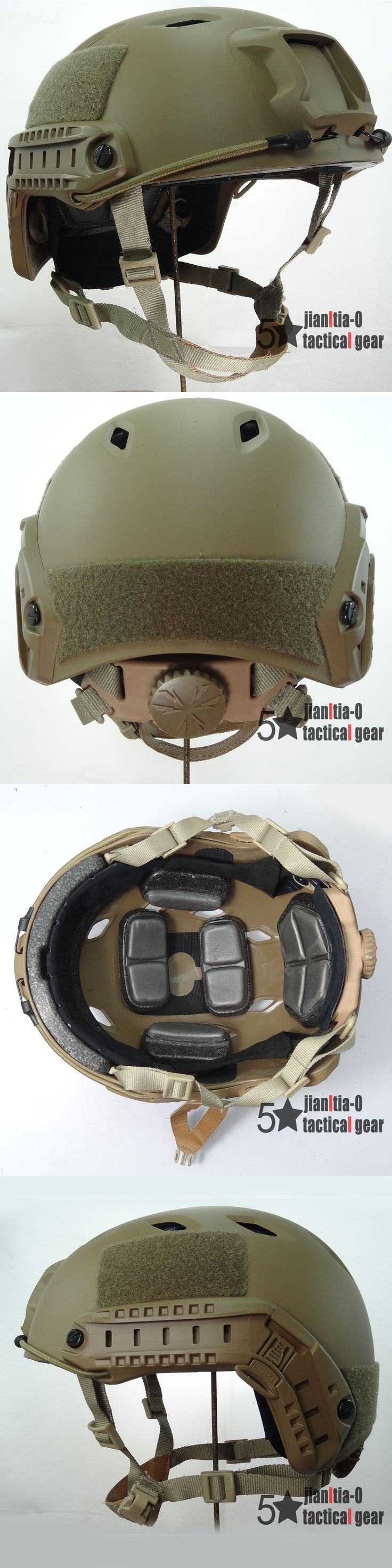 Hats and Headwear 177892: Fast Bj Fast Helmet Tactical W Nvg Shroud Side Rail Anti Riot Function -> BUY IT NOW ONLY: $35.99 on eBay!