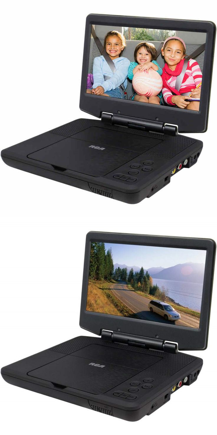 Other TV Video and Audio Parts: Brand New! Rca 9 Portable Dvd Player 5-Hour Battery W/ Ac And Car Adapters BUY IT NOW ONLY: $74.3
