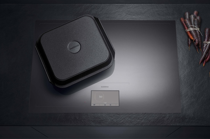 Gaggenau inductie kookplaat |ergonomisch en design typisch gaggenau - Poggenpohl