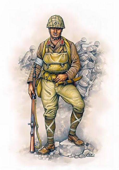 Esercito Imperiale Nipponico - Paracadutista del Distaccamento d'assalto Aereotrasportato, Kaoru 1944