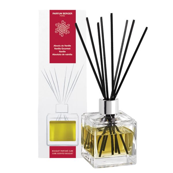 The cube scented bouquet Vanilla Gourmet – The cube scented bouquet – Collection Parfum Berger – home fragrance – sweetness