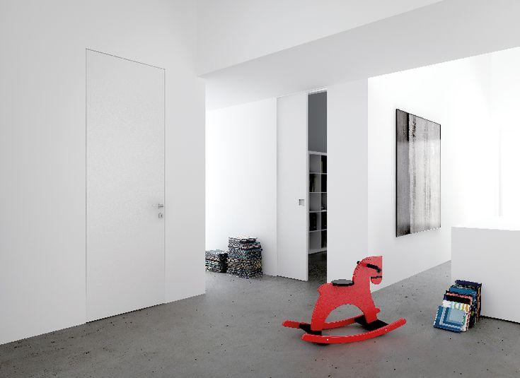 Des portes invisibles qui transforment l'espace | The Blog Déco.
