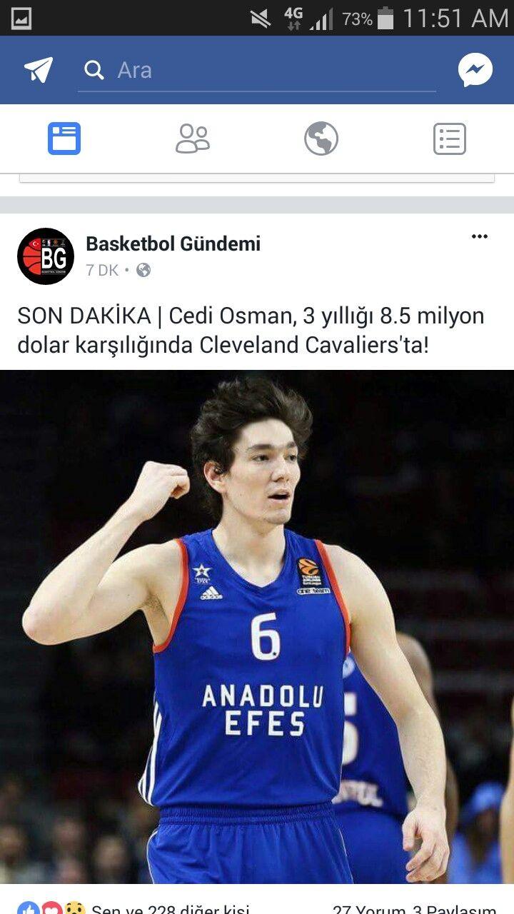 Cedi Osman artık NBA oyuncusu♡♡♡