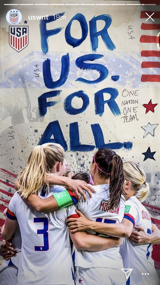 Sam Mewis Alex Morgan And Abby Dahlkemper Uswnt 2019 World Cup Wallpaper In 2020 Soccer Team Quotes Us Women S National Soccer Team Usa Soccer Team