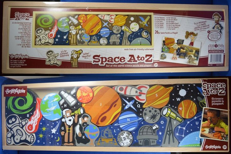 Alphabet and Language 145930: Beginagain Space A To Z Out ...