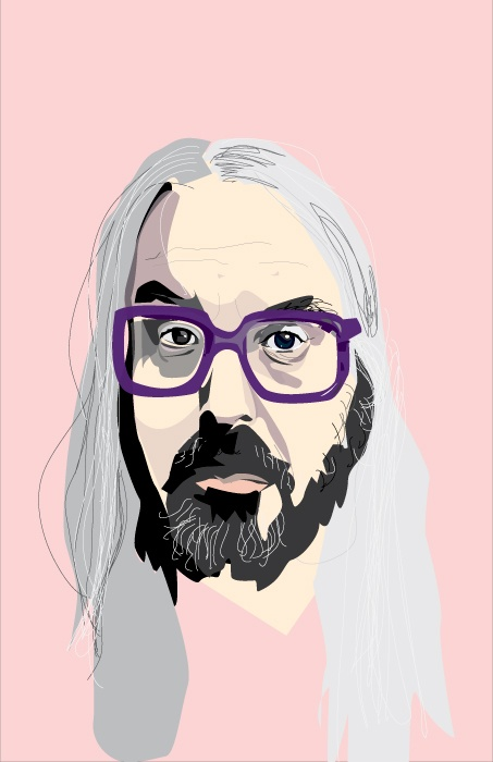 J Mascis #dinosaur jr #illustration #jmascis illustration by Tashia Potter. www.sunsix.ca