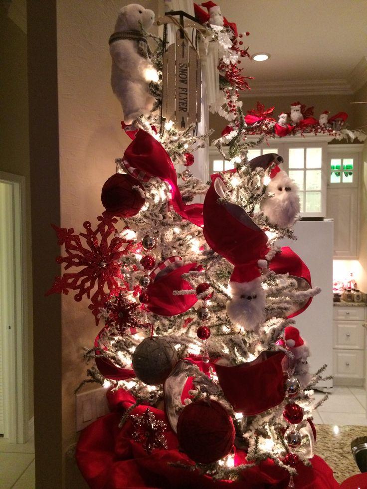 7 5 Flocked Christmas Tree