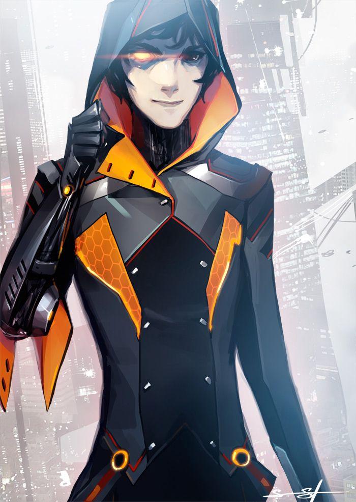 Cyberpunk, Future Girl, Cyborg, Futuristic, Fedir by ~fayrenpickpocket on deviantART #SciFi