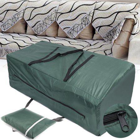 Patio Garden Patio Cushion Storage Waterproof Cushions Bag