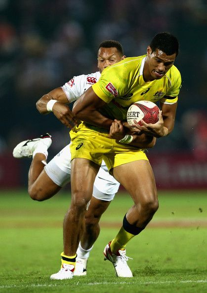 Dan Norton Photos - Emirates Dubai Rugby Sevens - Zimbio. Dan Norton of England tackles Pama Fou of Australia during day one of the Emirates Dubai Sevens - HSBC Sevens World Series on December 5, 2014 in Dubai, United Arab Emirates.