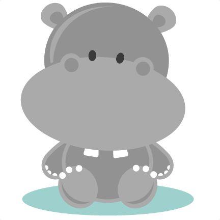Baby Hippo | ~ Illustrations ~ | Pinterest