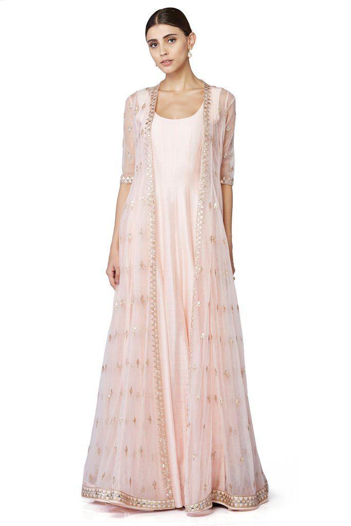 the Nawishtah Jacket & Gown