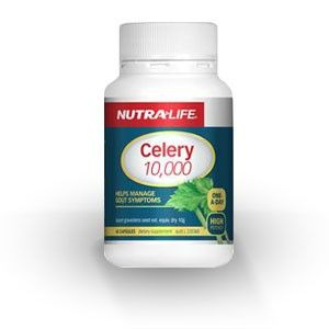 High potency Celery seed to help manage gout symptoms
