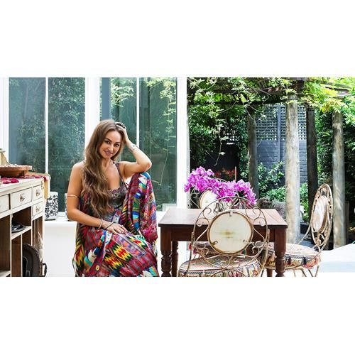 Flamboyant fashionista Camilla Franks has decorated her home with long-loved…