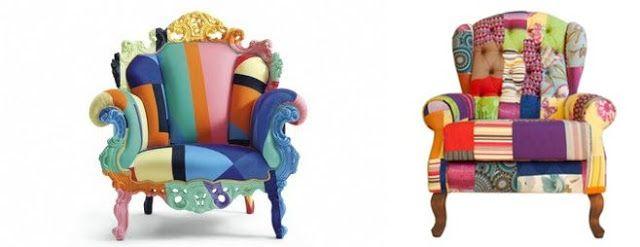 Encantada : Poltronas coloridas