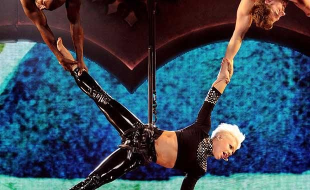We reviewed Pink's The Truth About Love Tour on DVD