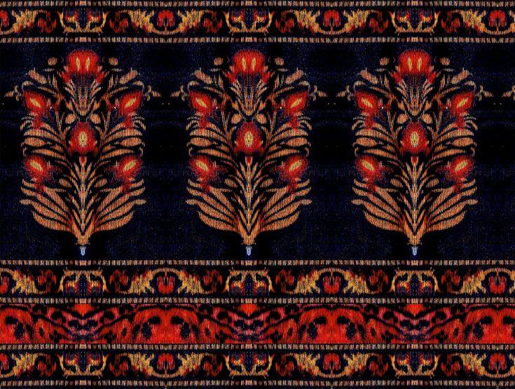 Pin By Nishant On Floral Butta Flower Border Prints Border
