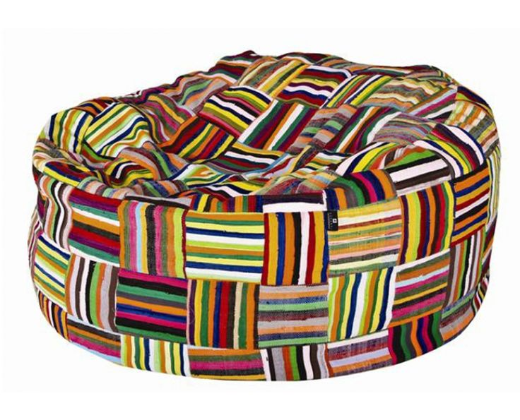 Bean Bag - Recycled Patchwork - Homeware | Weylandts South Africa